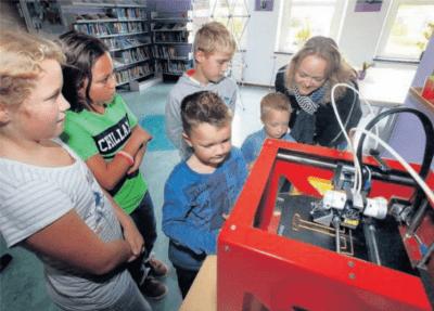 3D printen in de krant