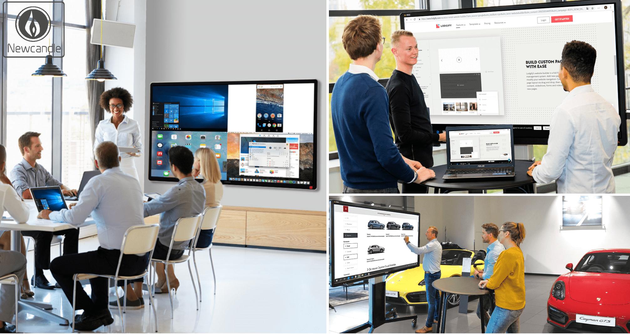 Presentatieschermen voor ieder bedrijf