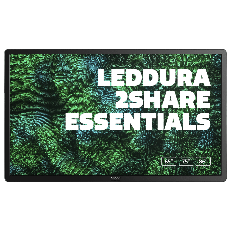 CTOUCH Leddura 2SHARE Essentials 86 inch