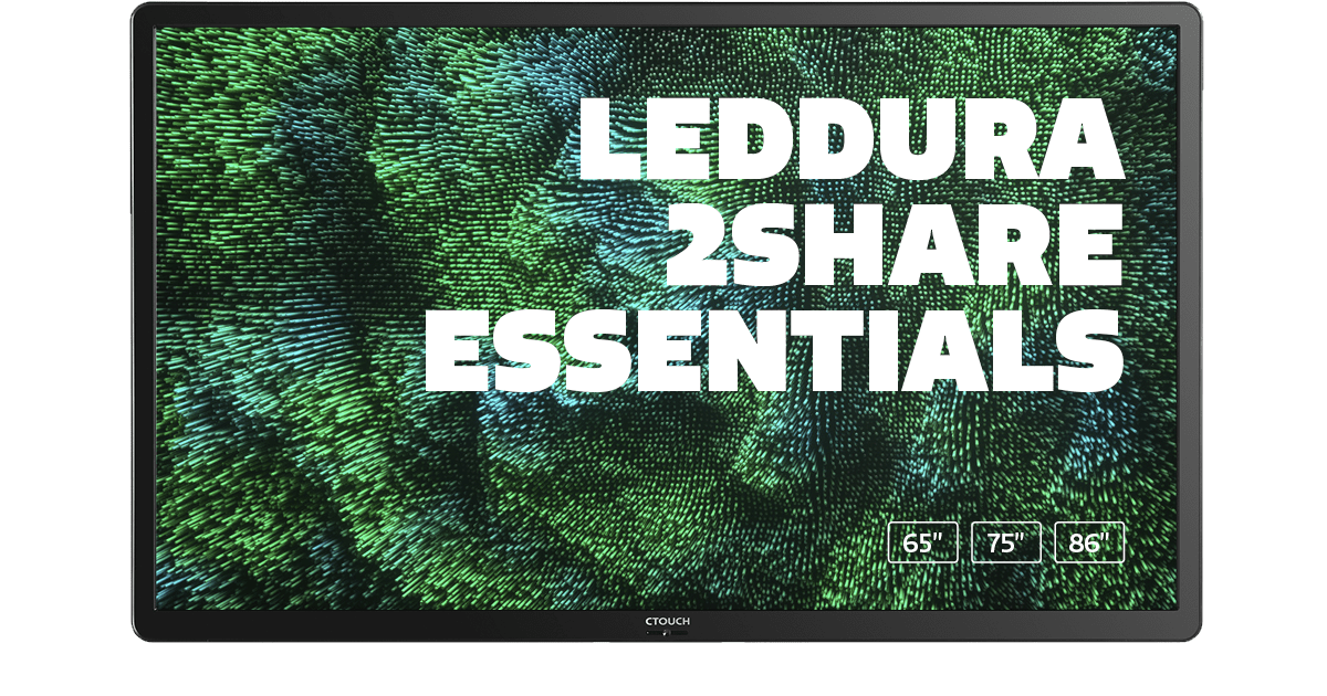 CTOUCH Leddura 2Share Essentials