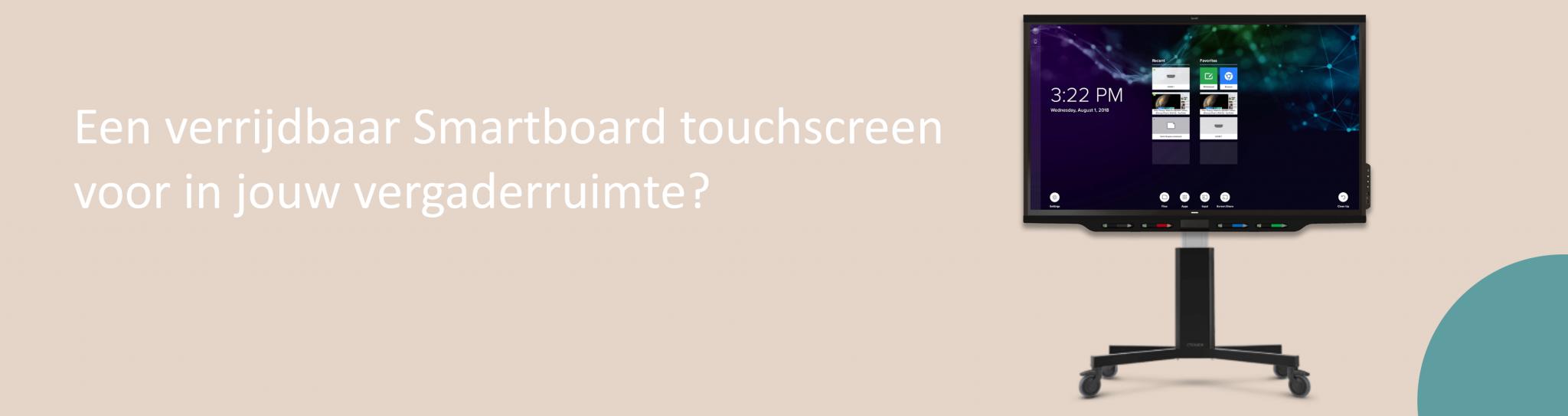 Smartboard touchscreen